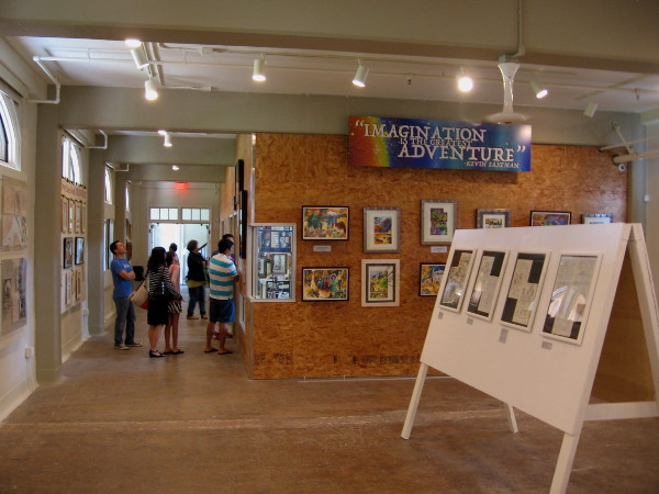 A very cool comic art gallery created by IDW Publishing opened a little over a week ago in San Diego's Liberty Station.