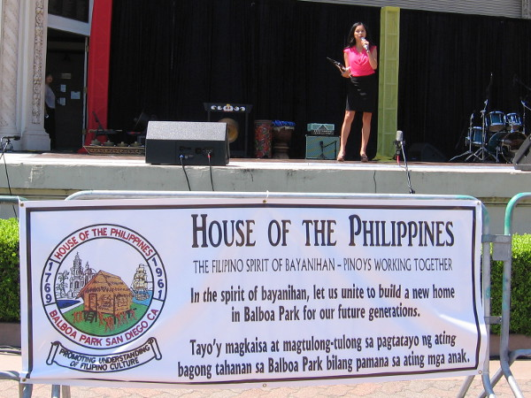 House of the Philippines participated in the event. They will soon have a home among the nearby House of Pacific Relations International Cottages.