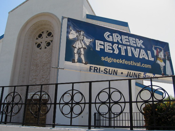 Each year a Greek Festival is held at St. Spyridon Greek Orthodox Church.