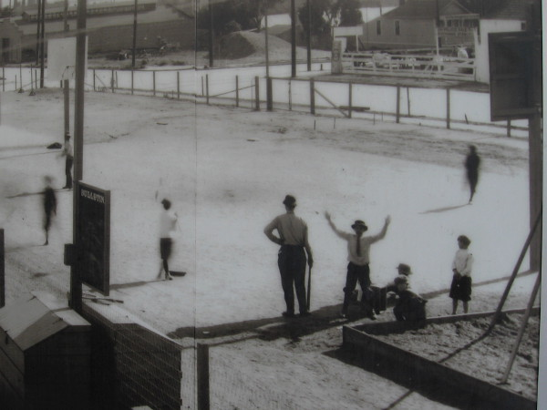 San Diegans loved the enduring sport of baseball a hundred years ago.