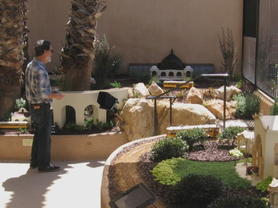 The very cool Centennial Railway Garden is a place in Balboa Park where dreams from the past come alive.