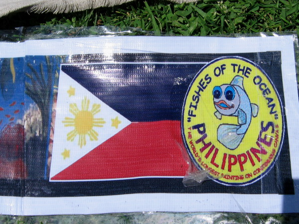 Fishes of the Ocean was created in the Philippines in an attempt to break a Guinness World Record.