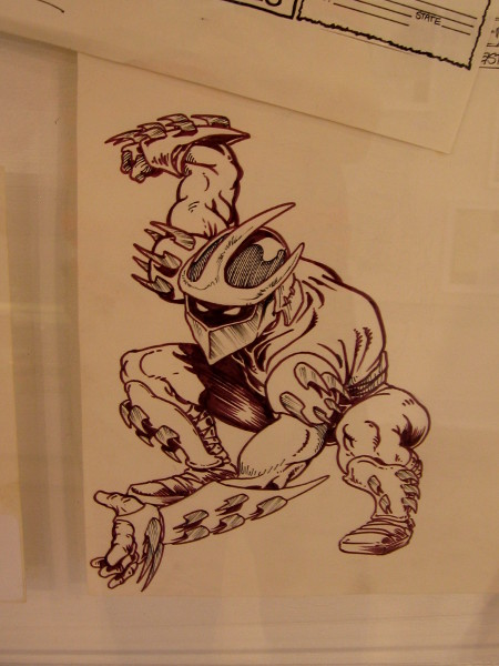 Shredder, the villainous leader of the Foot Clan in New York City.