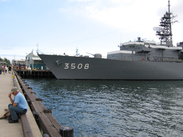 Three Japanese warships are visiting downtown San Diego's waterfront.