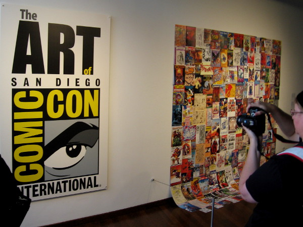 The Art of Comic-Con is a first ever museum exhibition consisting of original artwork used for past conventions.