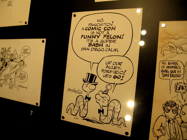The Art of Comic-Con special exhibit contains original work from more than 60 notable cartoon and comic book artists