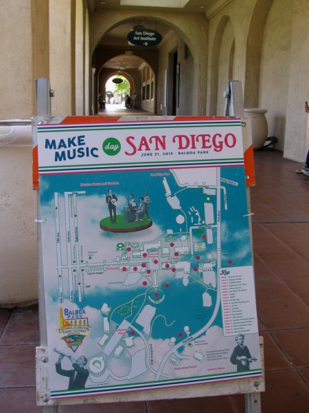San Diego's first ever Make Music Day was held in Balboa Park this Sunday.