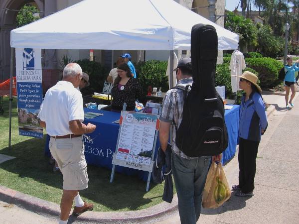 Friends of Balboa Park helped to organize the musical event, which encourages public participation.