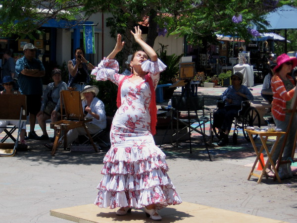 A range of powerful human emotion is transmitted to the audience during each fantastic Flamenco dance.