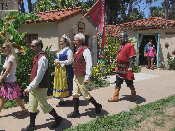 Sweden had their lawn program at the International Cottages today.