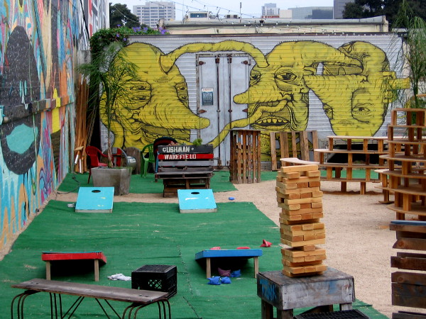 A very fun, funky place in San Diego's happening East Village!