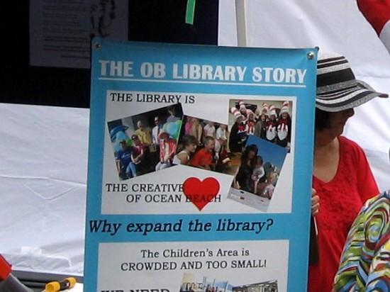The library is the creative heart of Ocean Beach.