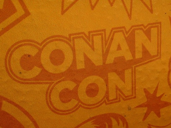 All shall bow down before him. And San Diego Comic-Con, to loud acclamation, will immediately be renamed Conan-Con.