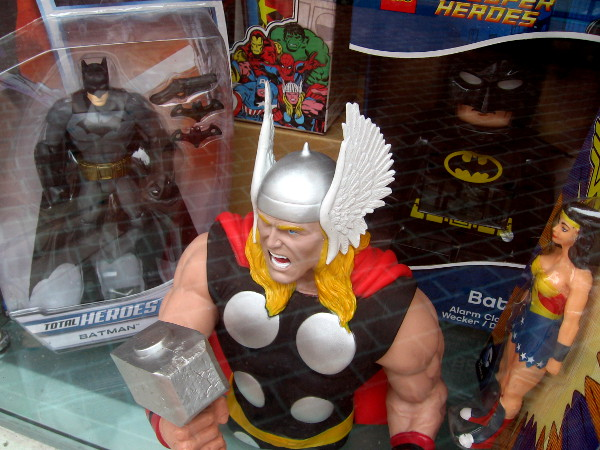 Here come Batman, Thor, Wonder Woman and other powerful heroes. Villains in San Diego, beware!