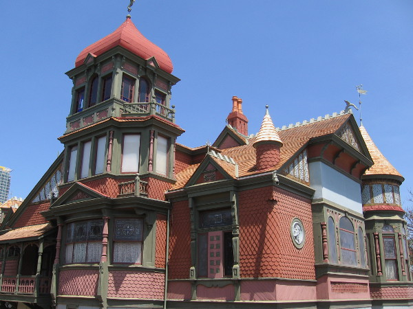 An excellent example of Queen Anne style architecture in Southern California.