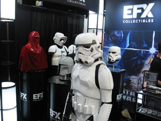Hundreds of cool Star Wars collectibles are on display and for sale during San Diego Comic-Con.