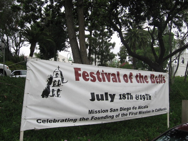 The Festival of the Bells is an annual event which celebrates the establishment and long history of California's first Spanish mission.