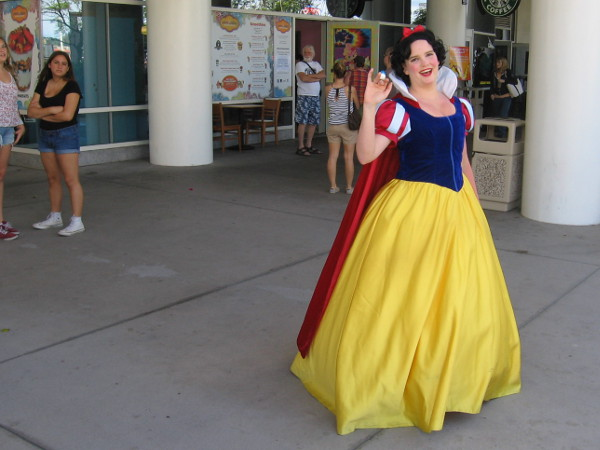 It's another Snow White! She seemed exceptionally nice, even for a Disney character.