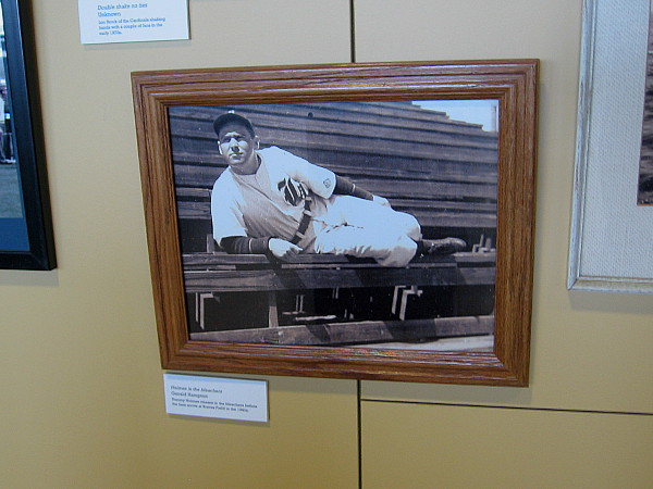 Anyone who is interested in sports, and America's Pastime in particular, should visit the SABR Collection in San Diego.