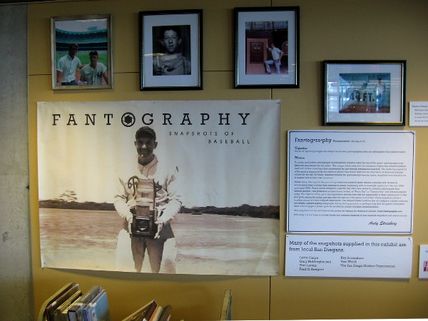 One small exhibit focuses on fan photography, called Fantography.