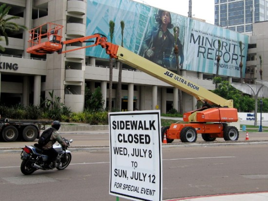 Major preparations have begun the week before 2015 San Diego Comic-Con!