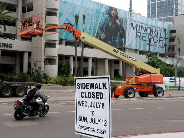 Major preparations have begun the week before 2015 San Diego Comic-Con!