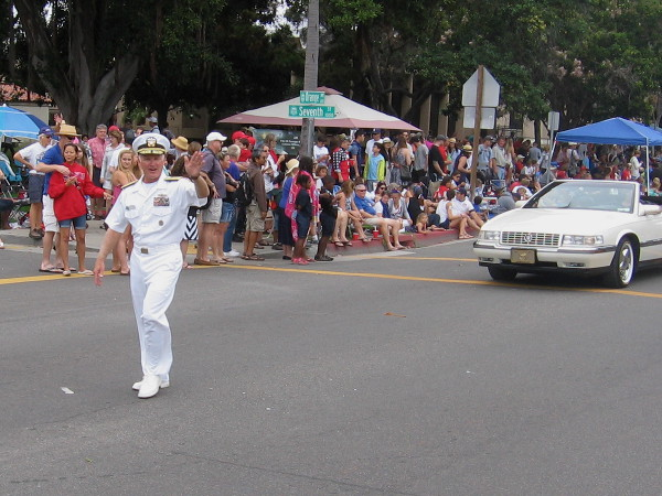 The Grand Marshall this year was Vice Admiral Thomas Rowden, Commander, Naval Surface Forces, U.S. Pacific Fleet.