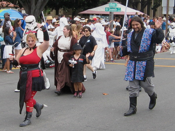 The Dark Force seems to have a big following. But don't be alarmed. Some fearless Jedi Knights have arrived!