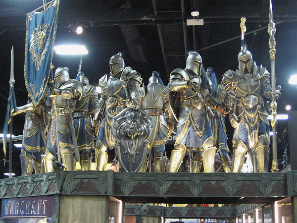 Super awesome suits of armor at the fantastic Weta Workshop exhibit.