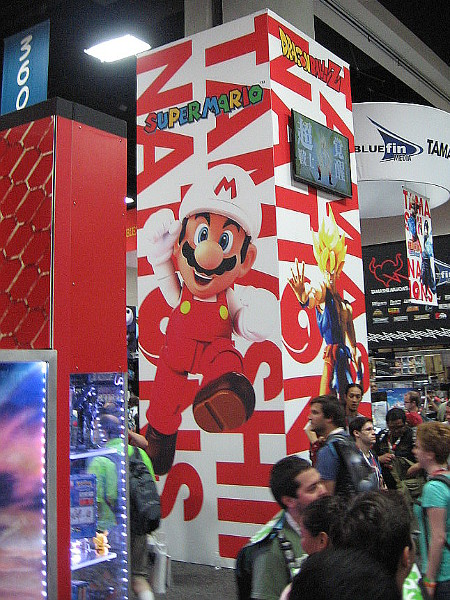 Super Mario and other video game characters have a big presence at 2015 San Diego Comic-Con.