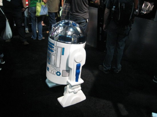 R2-D2 looks kind of lonely.
