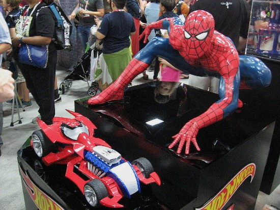 Spiderman has his own awesome Hot Wheels car!