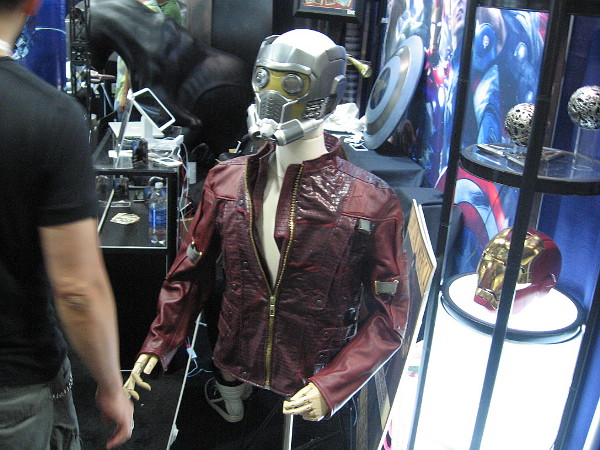Awesome Star Lord costume and helmet from Guardians of the Galaxy!