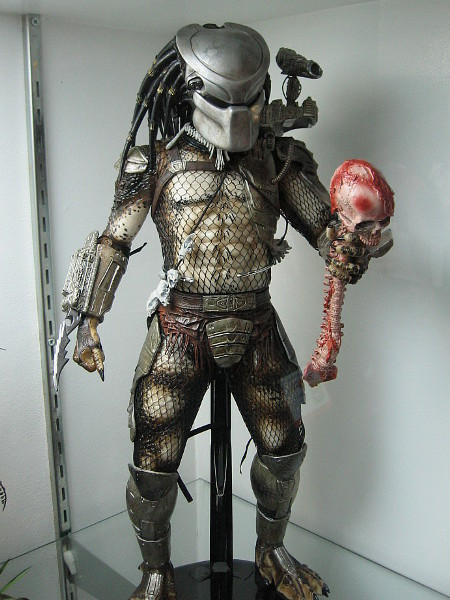 Looks like Predator ripped the skull and spine right outa somebody.