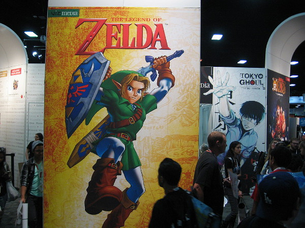 It's the Legend of Zelda!
