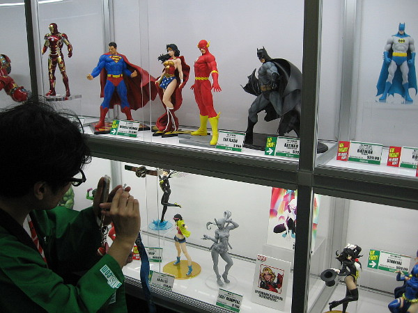 And, of course, we nerds love straight up, good old-fashioned comic book action figures.