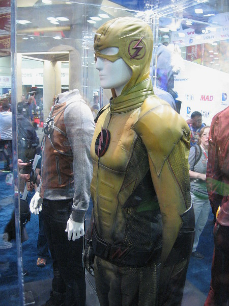 Costume worn by the Reverse Flash on the CW television show.