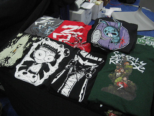 Cool t-shirts and merchandise is everywhere. If I had a million dollars in my pocket, it wouldn't have been enough.