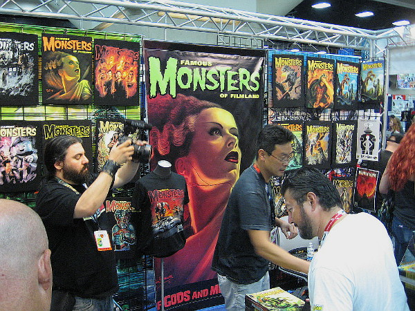 Monsters and villains easily outnumber heroes and cute characters. As they say, the bad guys often seem to be more interesting.