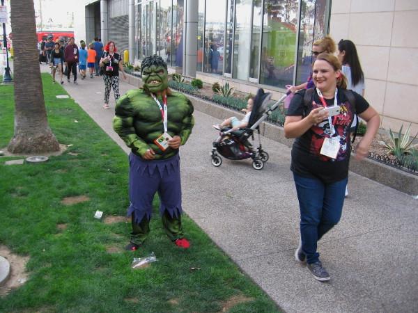 It looks like Hulk shrank a bit!
