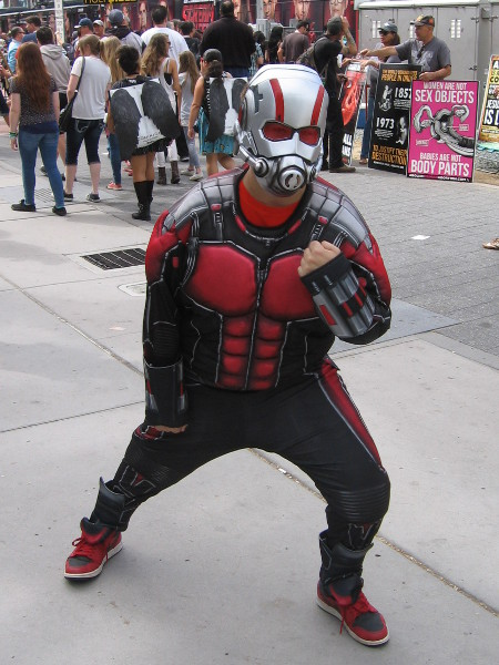 Ant-Man is ready for action, and I'm ready for his movie!