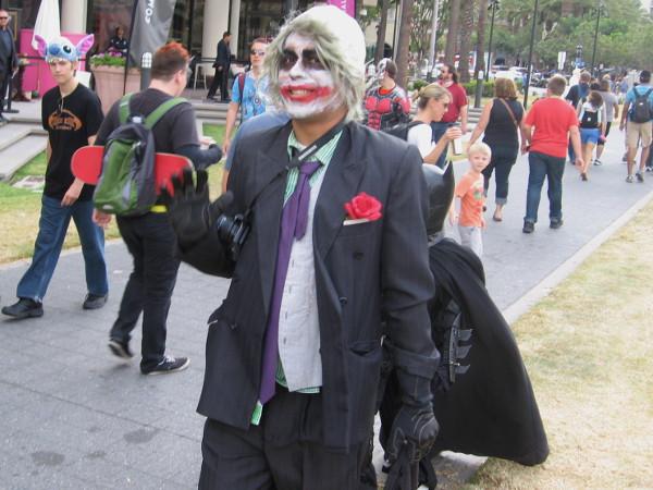 Here comes the Joker. Why so serious?