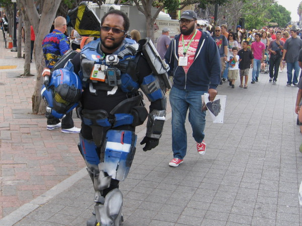 Martin Luther King Jr. Promenade is a prime spot to spot the coolest cosplay during San Diego Comic-Con.