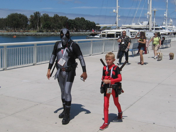 I'm guessing this is the nice Deadpool family.