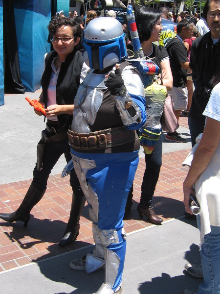 Boba Fett costumes are always cool. This is no exception.