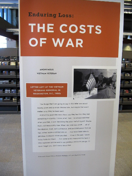 Enduring Loss: The Costs of War.