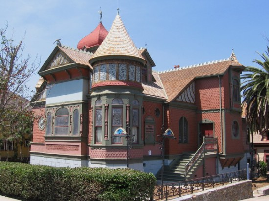 Photo of Jesse Shepard's Villa Montezuma in San Diego's Sherman Heights neighborhood.