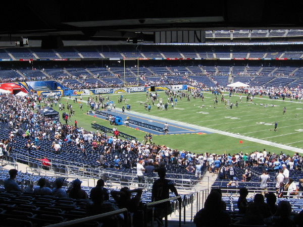 Chargers FanFest 2015 was a whole lot of fun. I hope San Diego's NFL team has a great season!