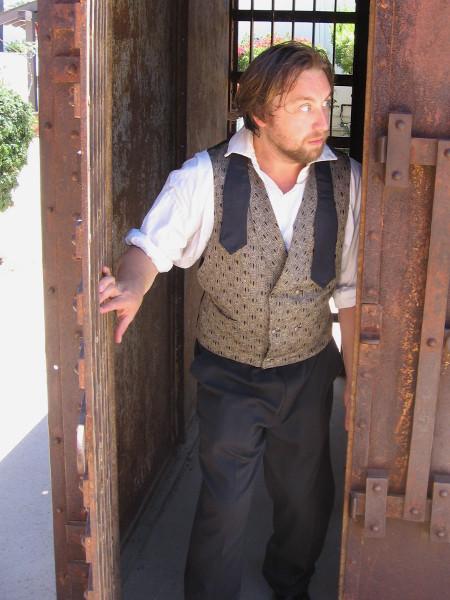 Uh oh. While no one was looking Henry David Thoreau got out of his jail cell!