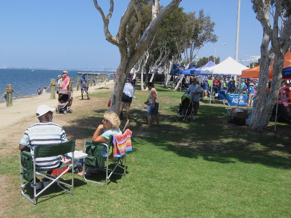 Thousands turned out to just chill, enjoy the sunshine, devour food, listen to live music and have fun at HarborFest.